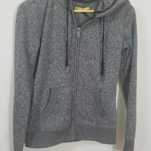 Zip up hoodie gray small/ petite used condition